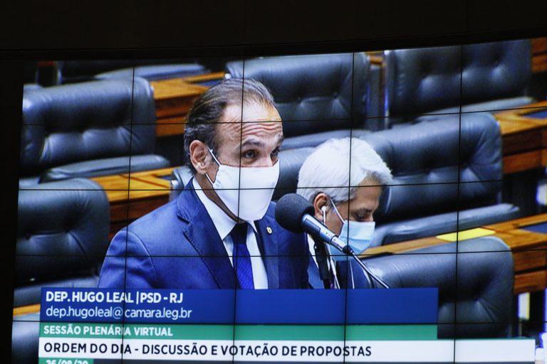 Ordem do dia. Dep. Hugo Leal(PSD - RJ)