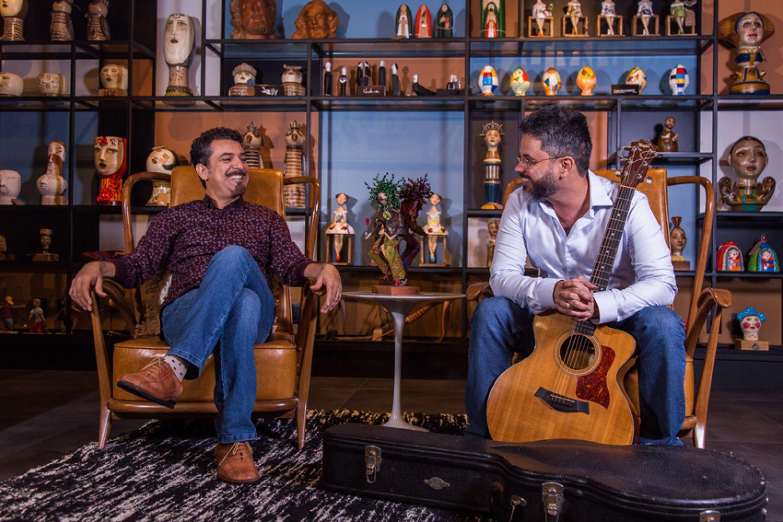 Dois artistas sergipanos colocam o Rei do Baião para conversar com Bach e Villa-Lobos