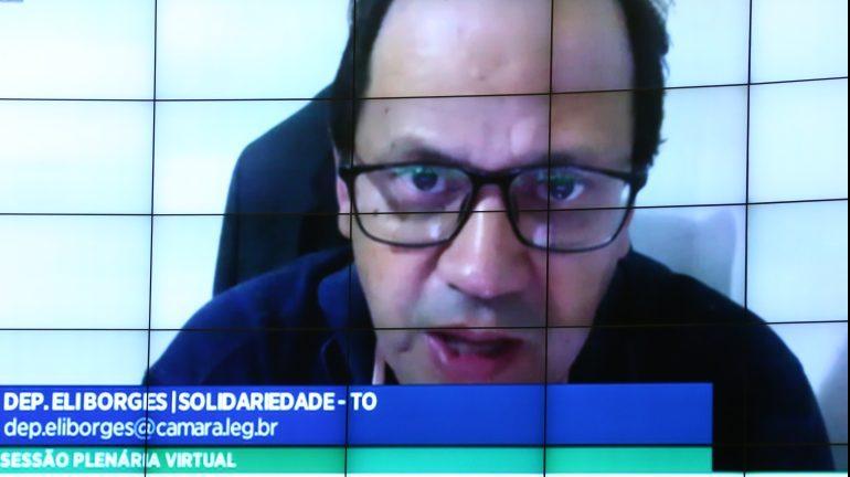 Ordem do dia para votação de propostas. Dep. Eli Borges (SOLIDARIEDADE - TO)