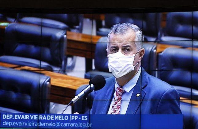 Ordem do dia. Dep. Evair Vieira de Melo (PP - ES)