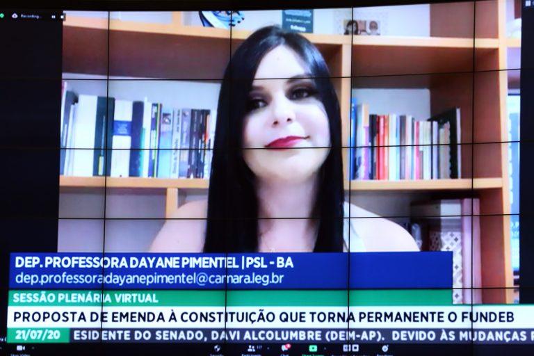 Ordem do dia. Dep. Professora Dayane Pimentel (PSL - BA)
