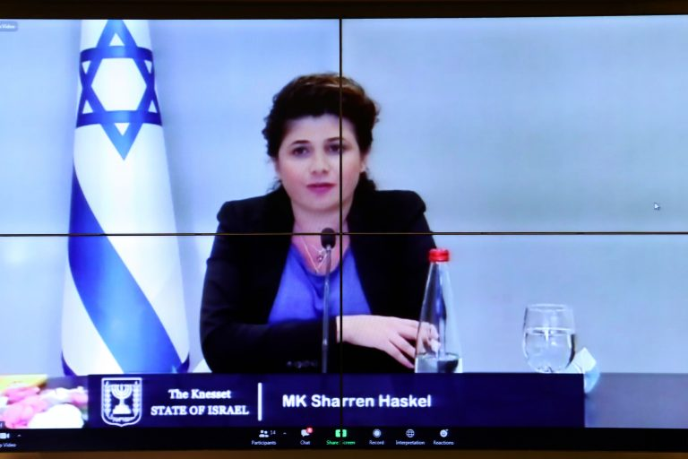 Olhar Internacional: O uso medicinal do Canabidiol. Membro da Knesset (Parlamento de Israel), Sharren Haskel