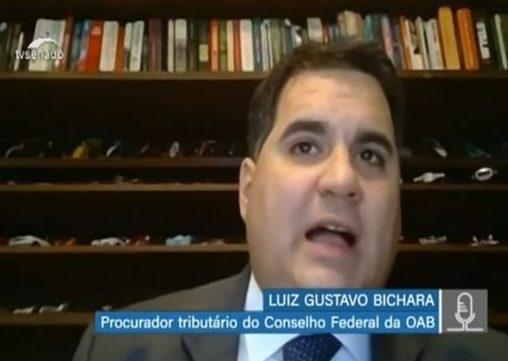 Representante do Conselho Federal da Ordem dos Advogados do Brasil (OAB), Luiz Gustavo Bichara, em audiência virtual da Comissão Mista da Reforma Tributária