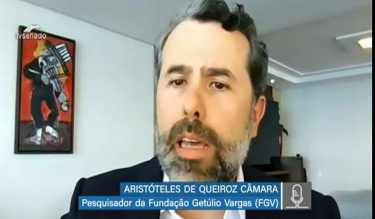 Aristóteles de Queiroz Câmara, pesquisador da Fundação Getúlio Vargas (FGV) em São Paulo