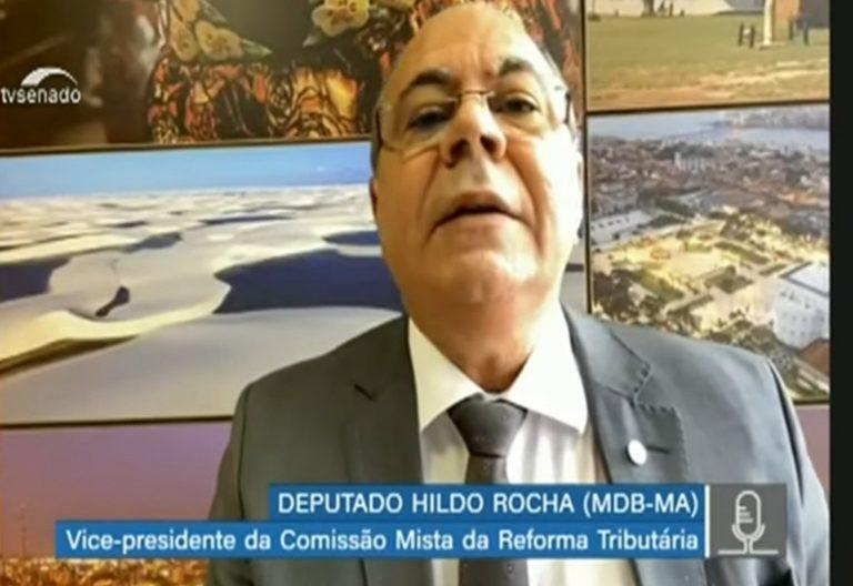 Deputado Hildo Rocha preside audiência virtual da Comissão Mista da Reforma Tributária