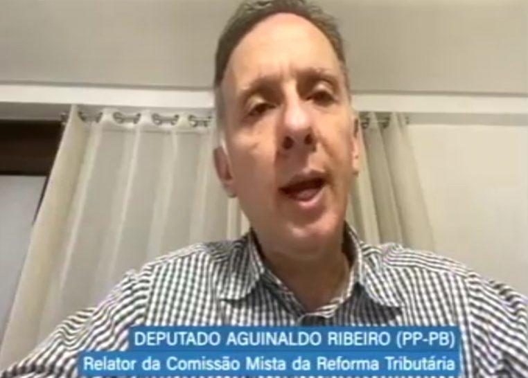 Aguinaldo Ribeiro. Reunião da Comissão Mista da Reforma Tributária