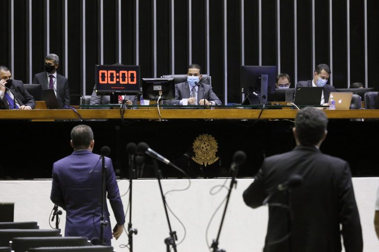 Ordem do dia. Presidente da Câmara em exercício, dep. Marcos Pereira (REPUBLICANOS - SP)
