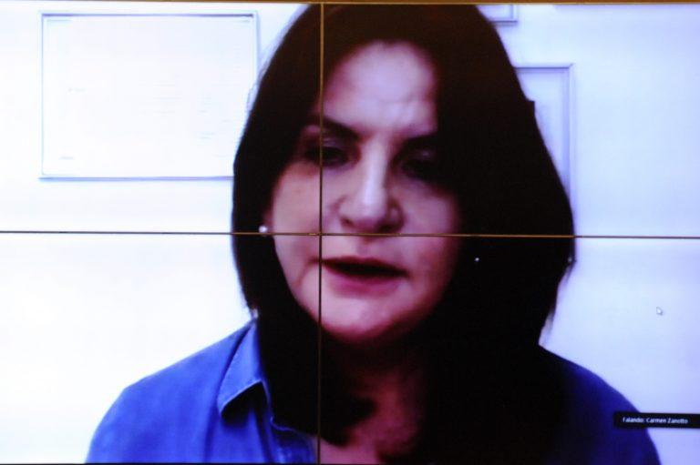 84ª Reunião Técnica por Videoconferência - O estado atual do desenvolvimento da vacina de Oxford. Dep. Carmen Zanotto(CIDADANIA - SC)