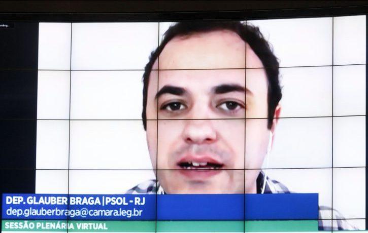 Ordem do dia. Dep. Glauber Braga(PSOL - RJ)