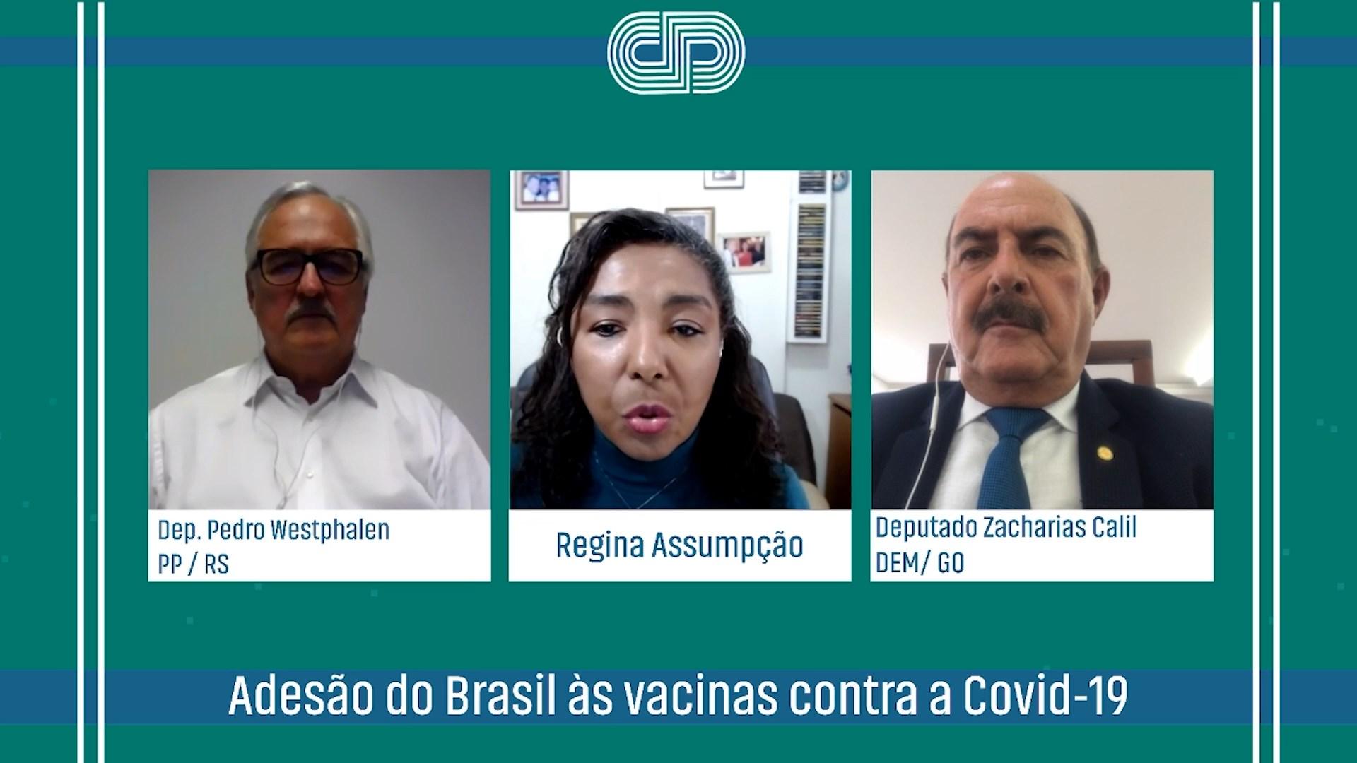 Adesão do Brasil às vacinas contra a Covid-19