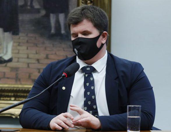 Lançamento da Frente Parlamentar em Defesa da Renda Básica. Dep. Felipe Rigoni(PSB - ES)