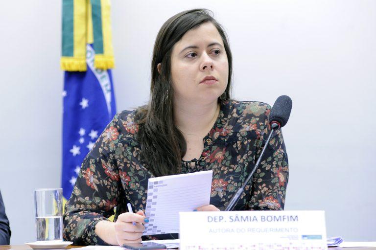 """Audiência Pública - Tema: """"Violações de direitos humanos nos presídios femininos do PA e do CE"""". Dep. Sâmia Bomfim (PSOL - SP)"""