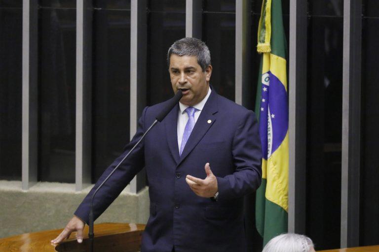 Deputado Coronel Tadeu discursa no Plenário da Câmara