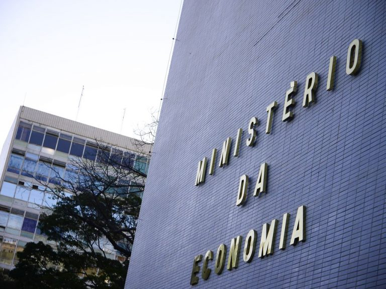 Brasília - Esplanada - fachada Ministério da Economia