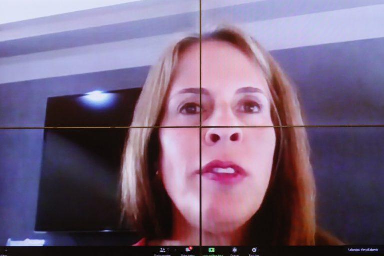 Promotora de Justi?a Vera L?cia Taberti participa de videoconfer?ncia