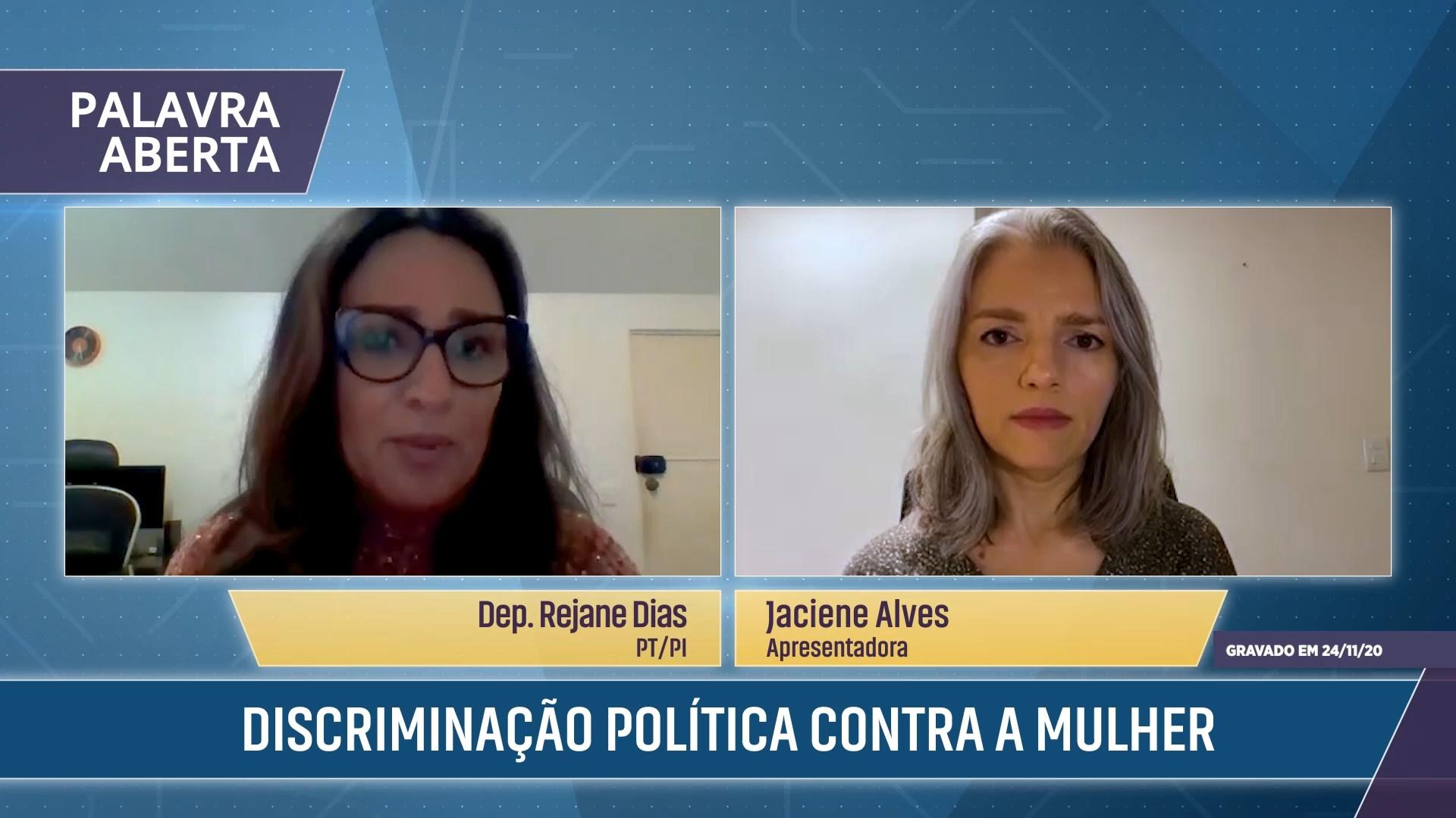 Violência e discriminação política contra a mulher