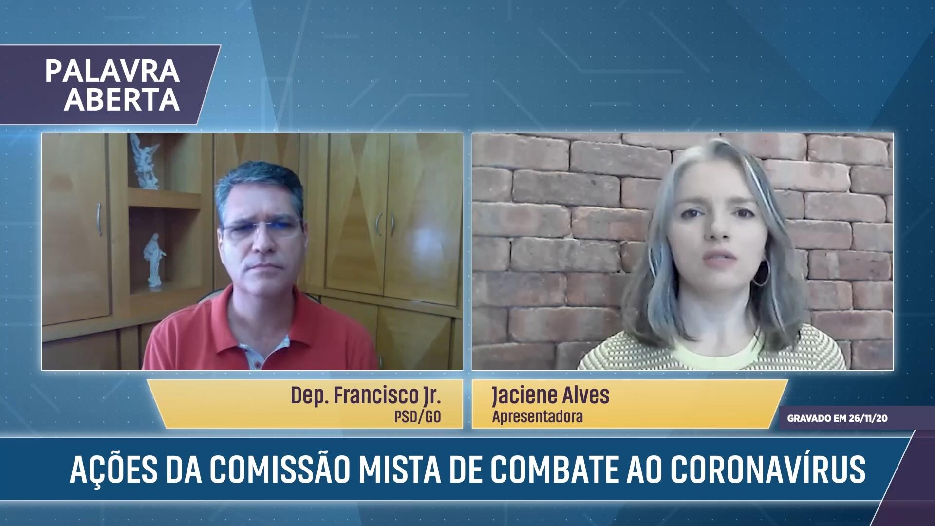 Ações da Comissão Mista de Combate ao Coronavírus