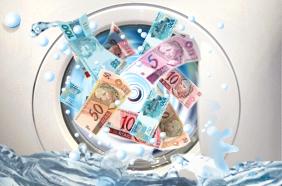 Política - Corrupção - Selo Lavagem de dinheiro