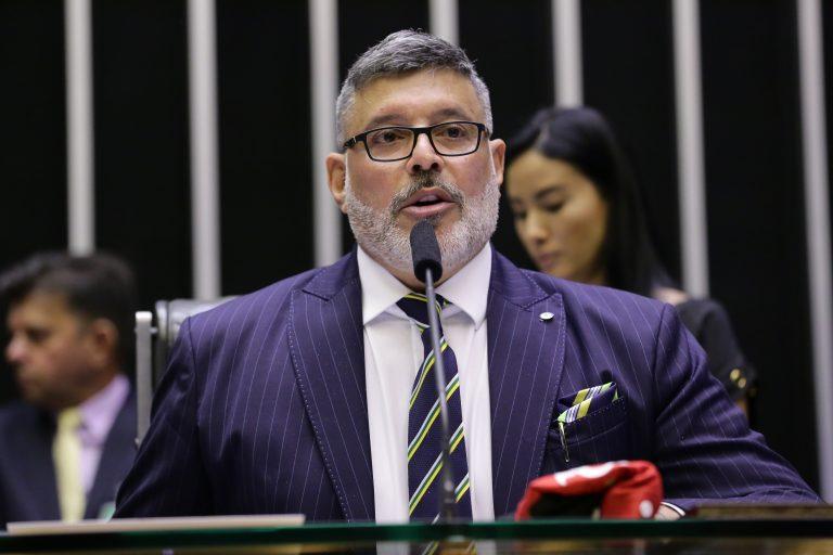 Deputado Alexandre Frota discursa no plenário