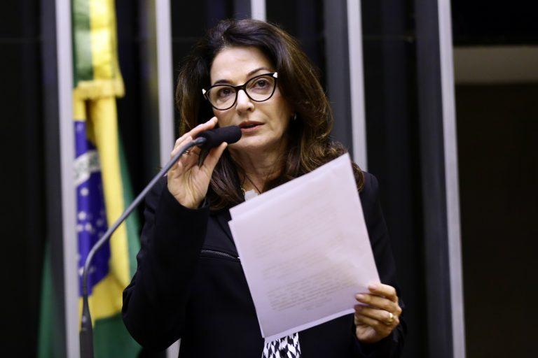 Dep. Norma Ayub (DEM-ES) na tribuna do Plenário