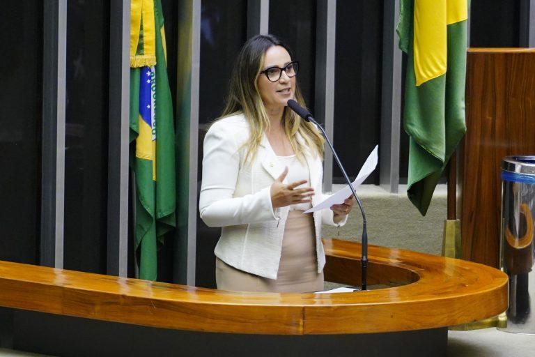 Deputada Rejane Dias discursa no Plenário da Câmara
