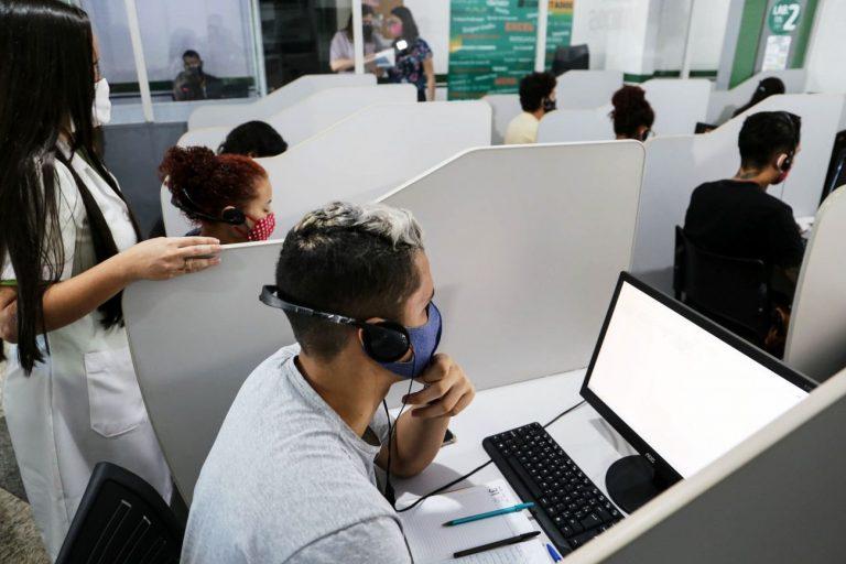 Tecnologia - geral - internet formação profissional computadores qualificação empregos trabalho (centro de capacitação profissional, Belém-PA)