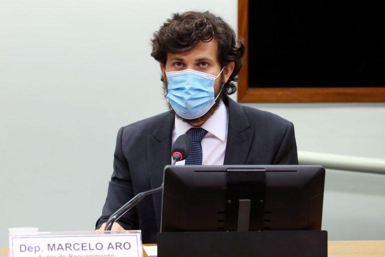 75ª Reunião Técnica por videoconferência - A situação dos pacientes com doenças raras na Pandemia da Covid-19. Dep. Marcelo Aro(PP - MG)