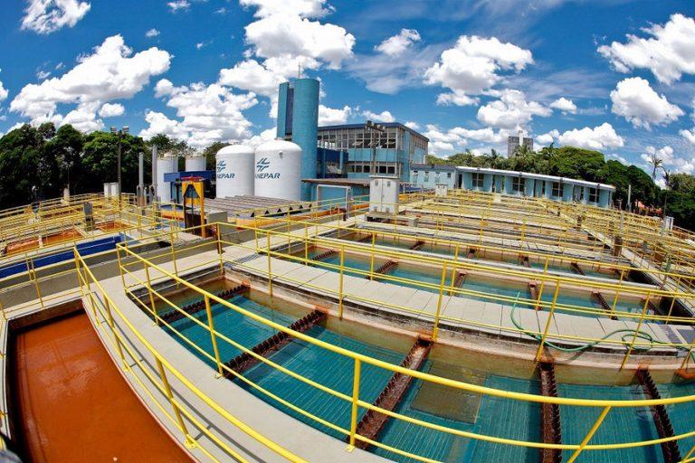 Meio Ambiente - água - estação tratamento água recursos hídricos saneamento básico infraestrutura (Companhia de Saneamento do Paraná, Sanepar)