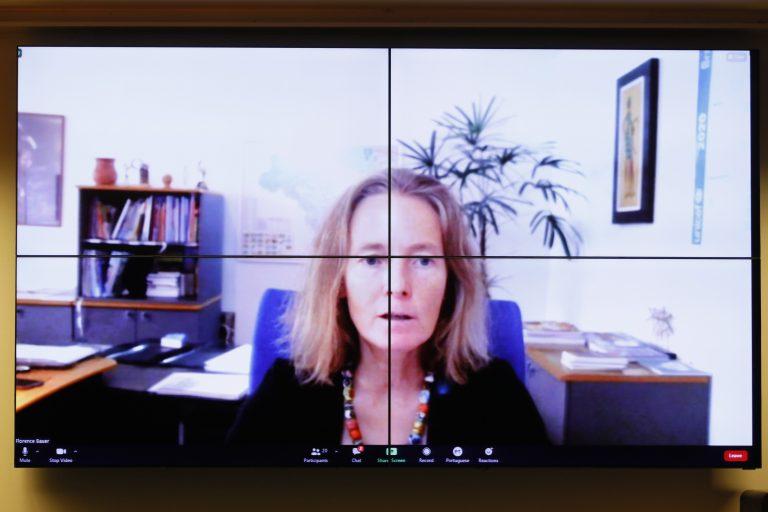 Estratégias de conectividade no Brasil e experiências internacionais. Representante da UNICEF no Brasil, Florence Bauer