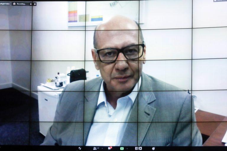 89ª Reunião técnica por Videoconferência – Acompanhamento dos ensaios clínicos da vacina Coronavac no Brasil. Diretor do Instituto Butantan, Dimas Covas