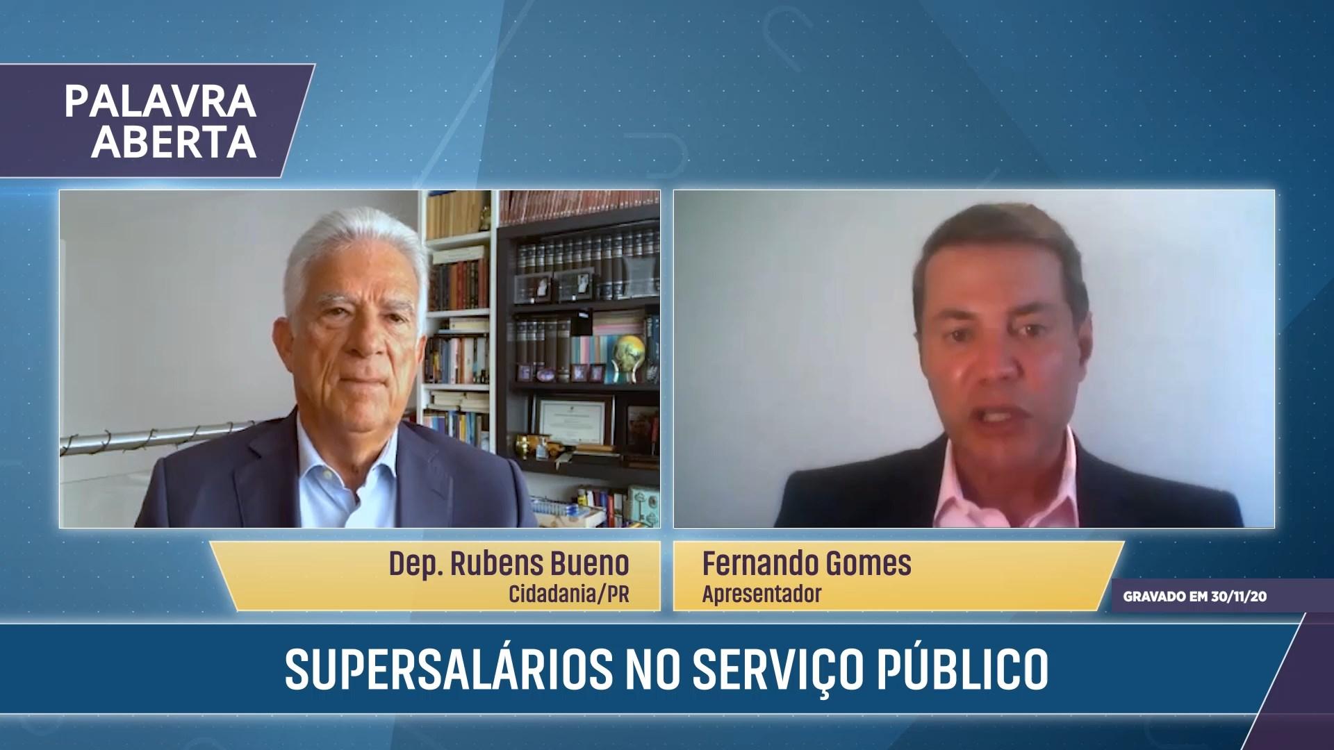 Supersalários no serviço público