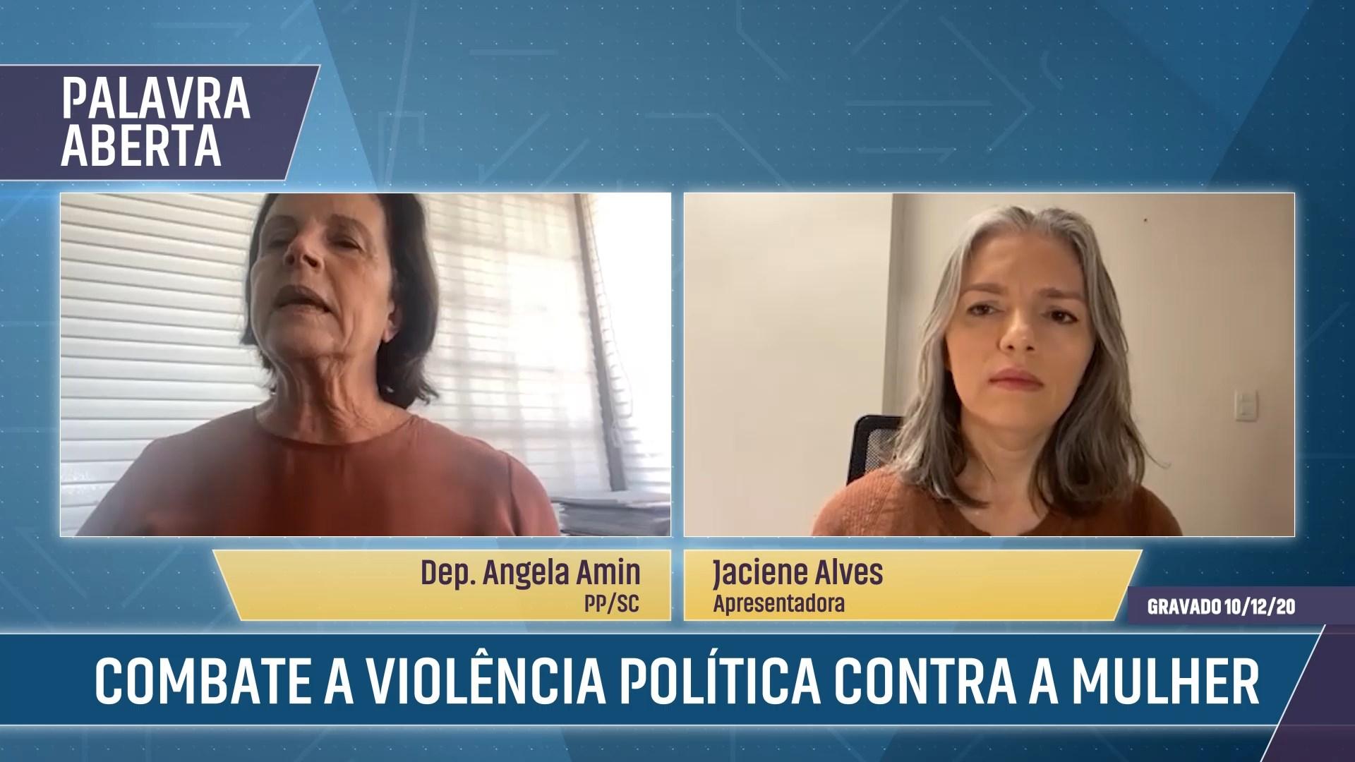 Combate a violência política contra a mulher
