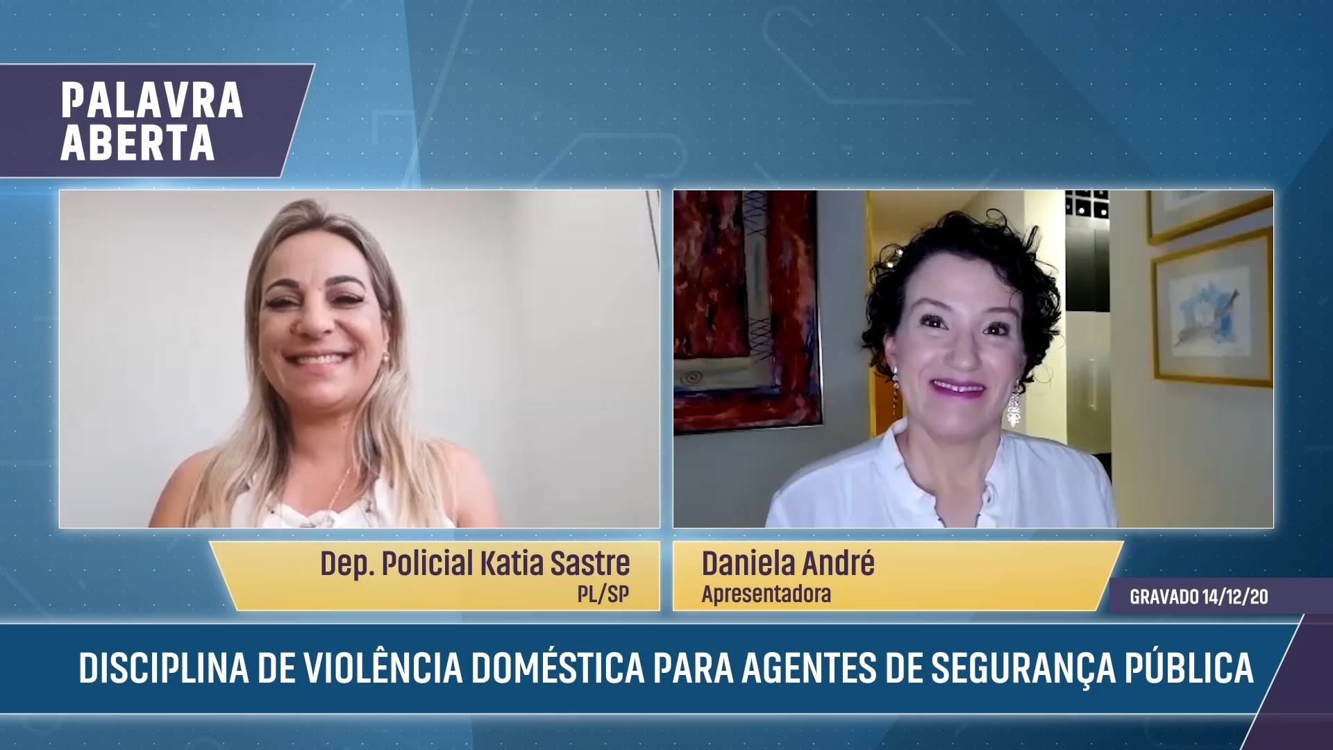 Disciplina de violência doméstica para agentes de segurança pública