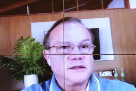 Dep. Benes Leocádio (REPUBLICANOS - RN) em reunião por videoconferência