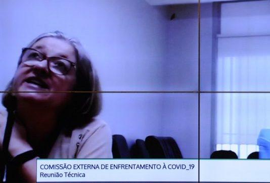 A Pandemia da COVID19 e os Impactos na Terapia Renal Substitutiva. Coordenador-Geral do Sistema Nacional de Transplantes do Ministério da Saúde, Daniela Salomão