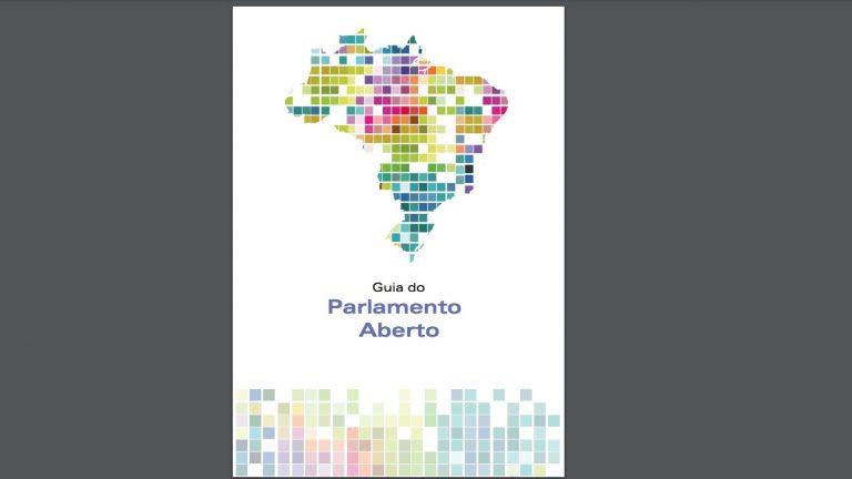 Capa do Guia do Parlamento Aberto