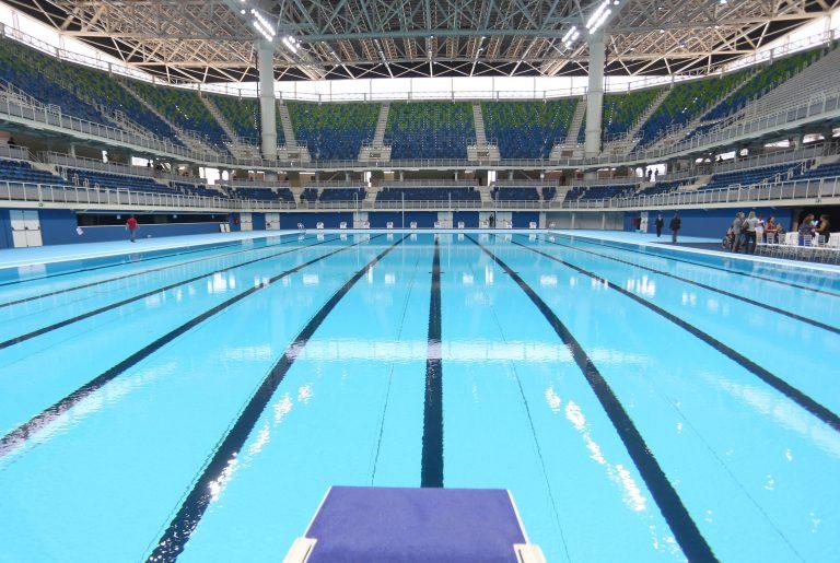 Esporte - olimpíadas - Jogos Olímpicos Rio 2016 esportes aquáticos natação piscinas