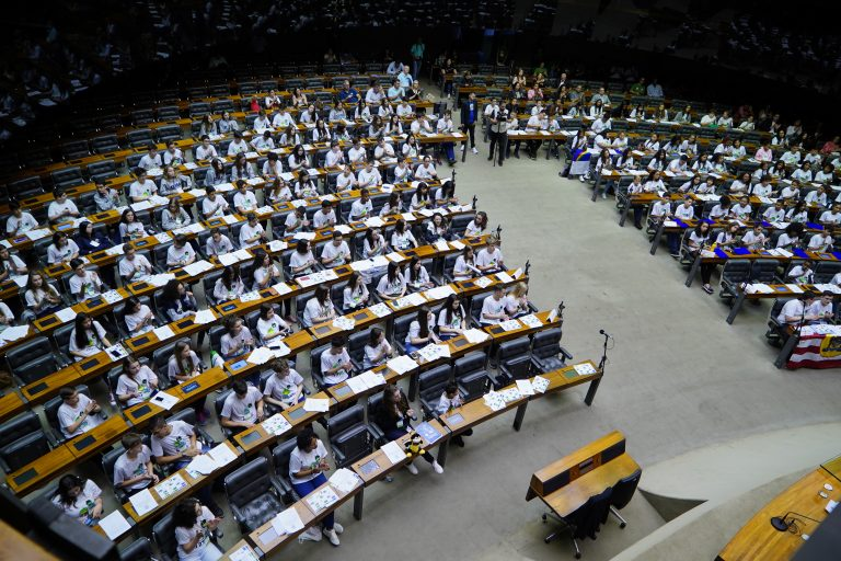 Plenário - Projeto Câmara Mirim 2019