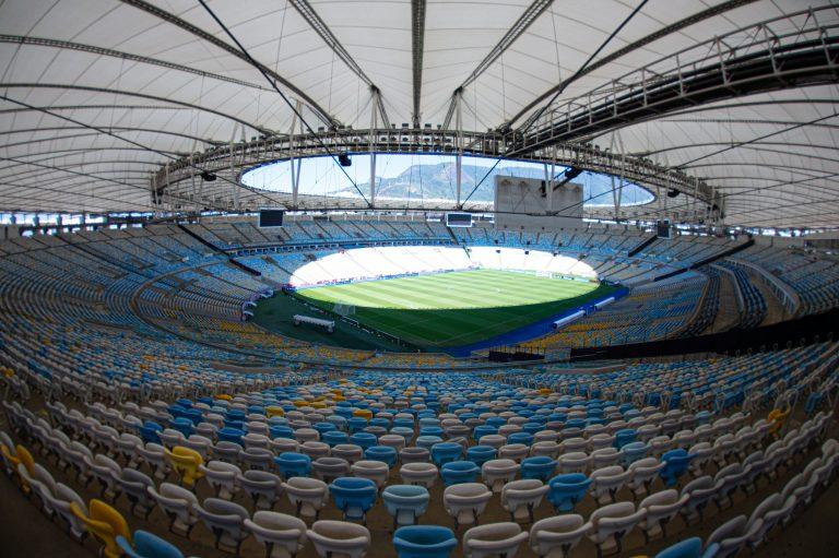 Esporte - futebol - estádios partidas campeonatos infraestrutura esportiva (Maracanã, Rio de Janeiro-RJ)