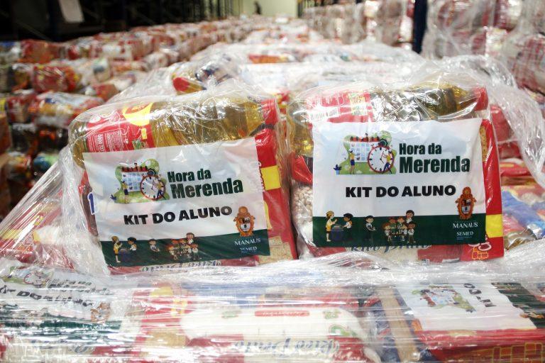 Assistência Social - geral - auxílio benefícios segurança alimentar kit merenda escolar (distribuição de cestas básicas a pais de alunos da rede pública de Manaus-AM)