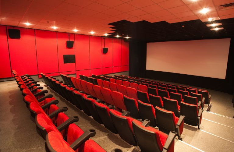 Sala de cinema vazia