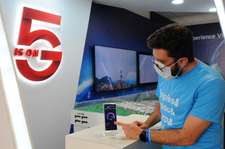 Comunicação - internet - 5g - Laboratório de Testes 5G, do Parque Tecnológico de Brasília
