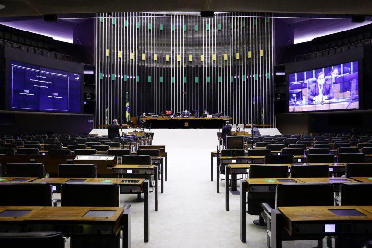 Votação de propostas. Votação de propostas. Presidente da Câmara dos Deputados, Rodrigo Maia
