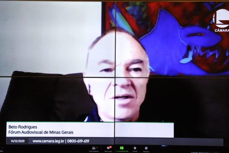Reunião Técnica. Fórum Audiovisual de Minas Gerais, Beto Rodrigues