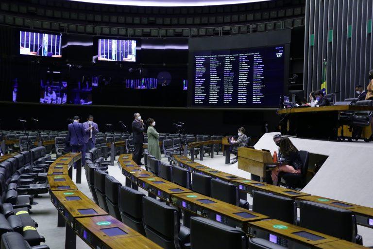 Deputados participam de votação no Plenário da Câmara
