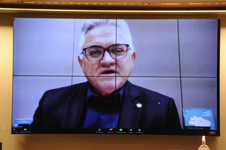 Secretário-Geral do CONASS, Jurandi Frutuoso, participa de videoconferência