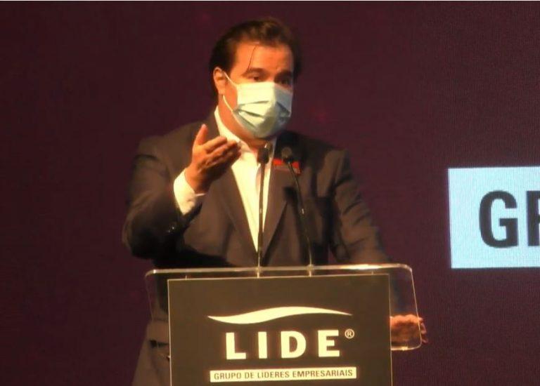Rodrigo Maia faz discurso