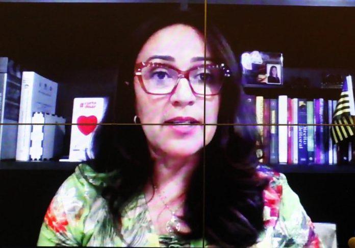 21 Dias de Ativismo - Debate sobre Violência Contra as Mulheres na Pandemia. Dep. Rejane Dias(PT - PI)