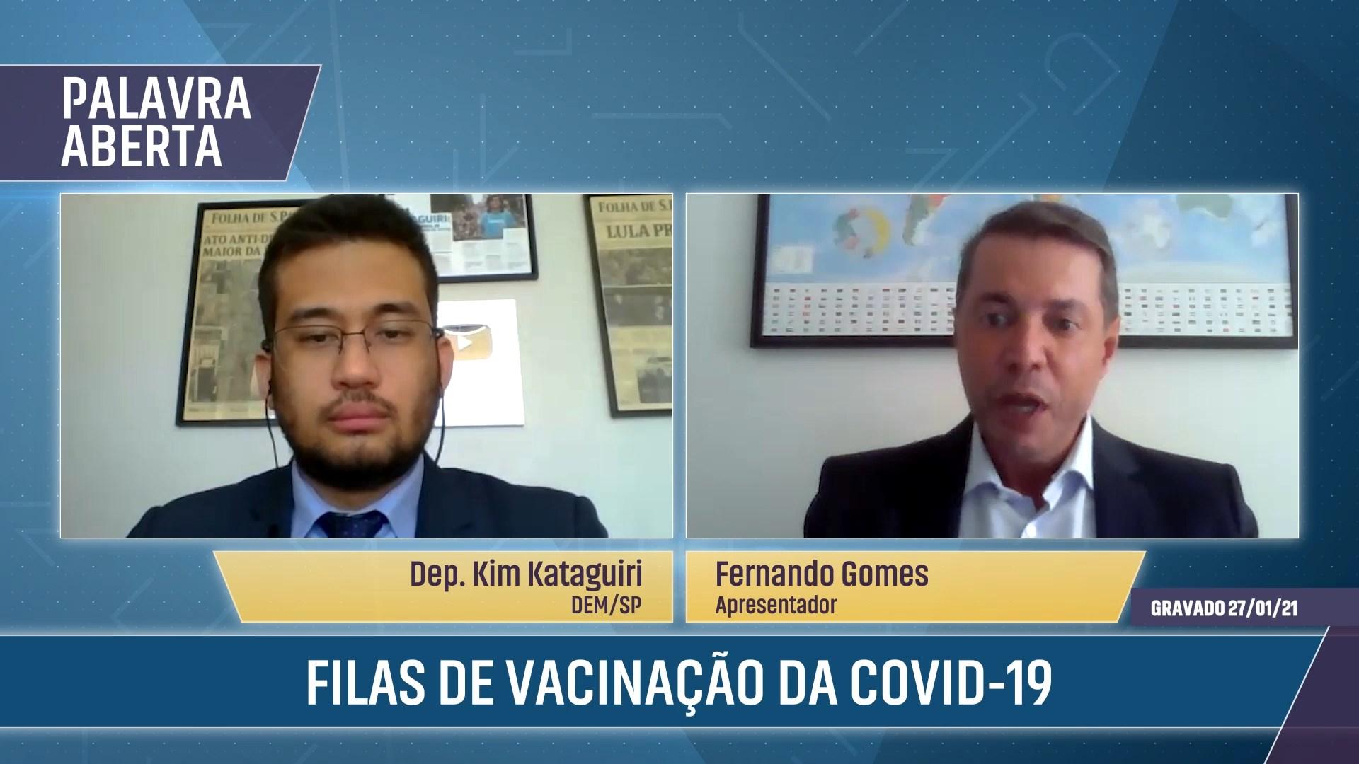 Filas de Vacinação da Covid-19