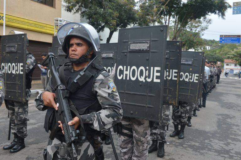 Segurança - policiais - soldados (Batalhão de Choque da Polícia Militar do Espírito Santo)